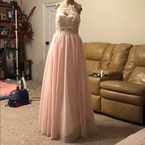 B. Darlin blush dress.